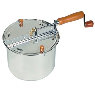 Cook N Home Stainless Steel 6.5-quart Stovetop Popcorn Popper