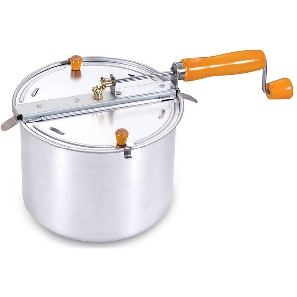 Cook N Home Aluminium 6.5-qt Stovetop Popcorn Popper