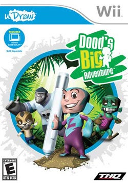 Wii - Dood's Big Adventure - Udraw - By THQ