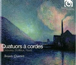 Arcanto Quartet - Debussy/Ravel/Mutilleux: Nocturnes Nos. 1-21