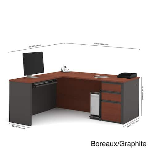 Bestar Prestige L-shaped Desk