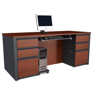 Bestar Prestige Double Pedestal Desk