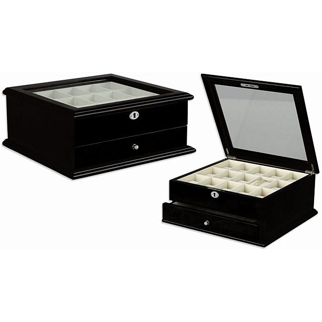 Seya Espresso Wooden Watch Box
