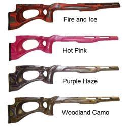 Revolution Extreme 10/22 LR Bull Barrel Wood Rifle Stock