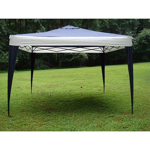 ProGarden Polyester Top/Steel Frame Canopy Tent (10' x 10') - 10' x 10'