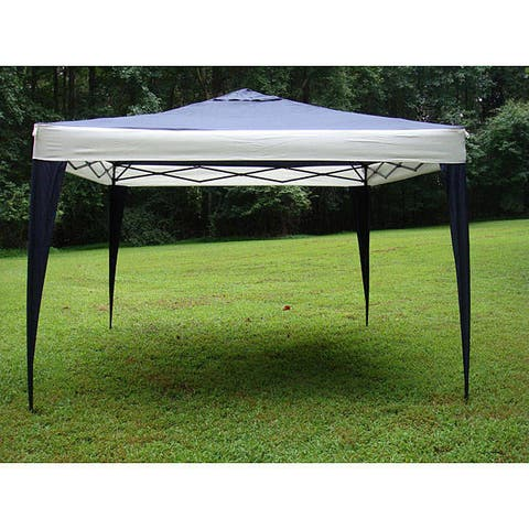 Handmade ProGarden Polyester and Steel Frame Canopy Tent