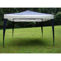 ProGarden Polyester Top/Steel Frame Canopy Tent (10' x 10') - 10' x 10'