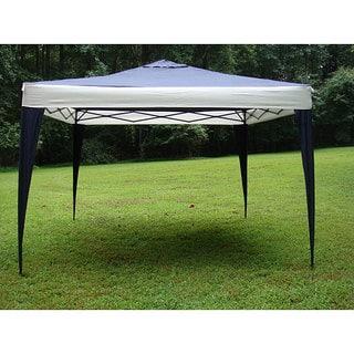 ProGarden Polyester Top/Steel Frame Canopy Tent (10u0027 x 10u0027)  sc 1 st  Overstock.com & Tents u0026 Outdoor Canopies For Less | Overstock.com