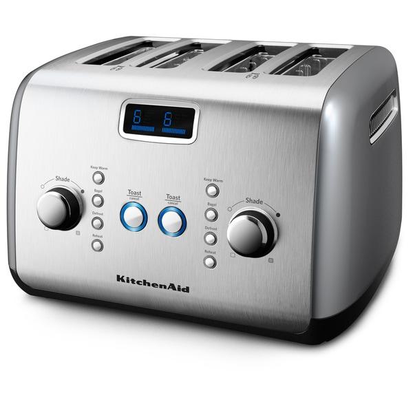 KitchenAid KMT423CU Contour Silver 4-slice Toaster