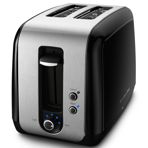 KitchenAid Onyx Black Two-slice Toaster