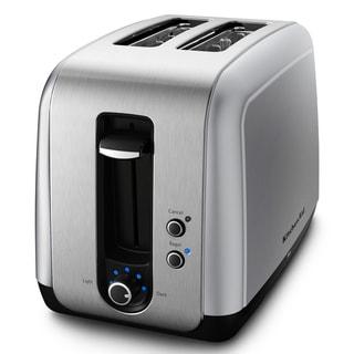 KitchenAid KMT211CU Contour Silver 2-slice Toaster