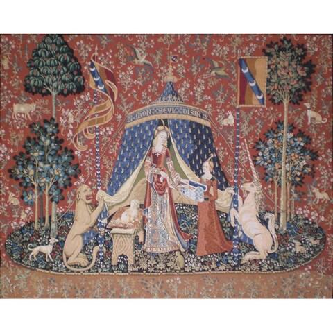 Unicorn Desire Wall Tapestry (2'4 x 2'8)
