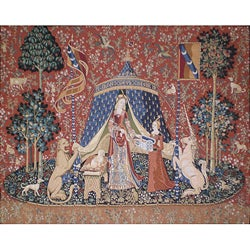 Unicorn Desire Wall Tapestry (2'4 x 2'8)