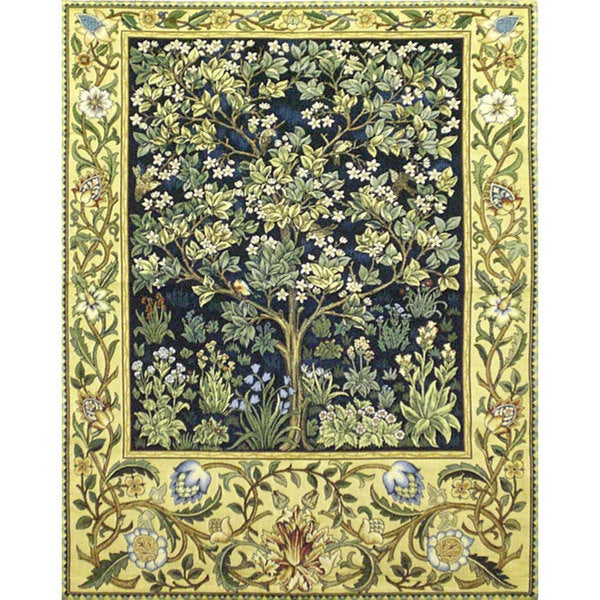 Tree Of Life Wall Tapestry 4 X27