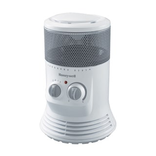 Honeywell White Mini Tower 360-degree Swivel Heater