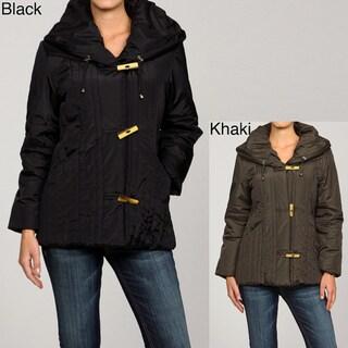 Women's Casablanca Seamed Toggle Coat