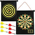 Magnetic Roll Up Dart Board/ Bullseye Game w/ Darts