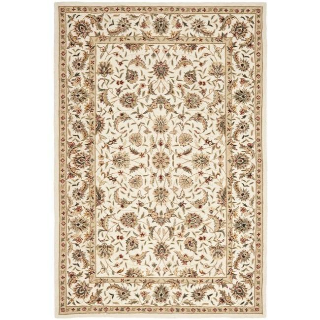 Safavieh Hand-hooked Chelsea Tabriz Ivory Wool Rug - 7'9 x 9'9