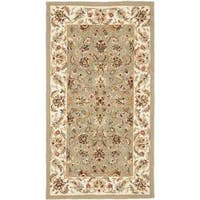 Safavieh Hand-hooked Chelsea Tabriz Sage/ Ivory Wool Runner (2'6 x 4')