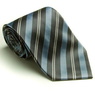 Platinum Ties Men's 'Baby Blue Banister' Tie