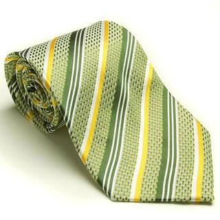 Platinum Ties Men's 'Meadow Gold' Tie