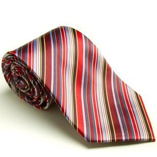 Platinum Ties Men's 'Candy Cane' Tie