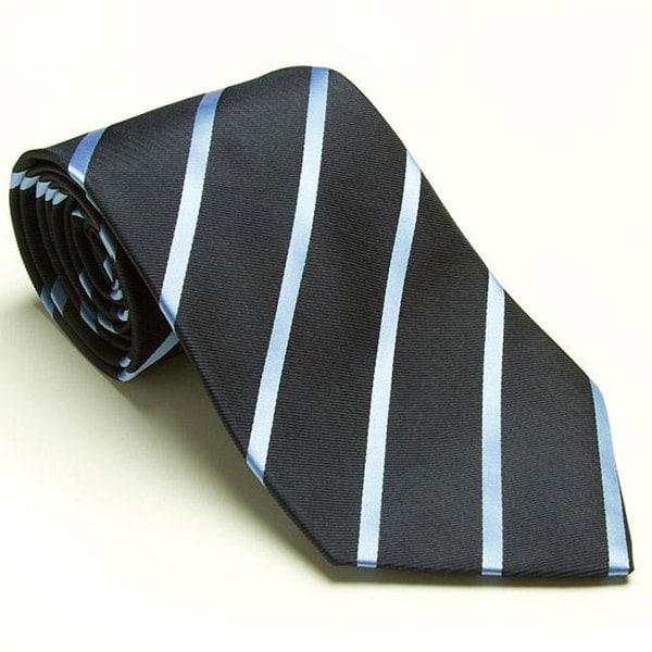 Platinum Ties Men's 'Blue Avenue' Tie