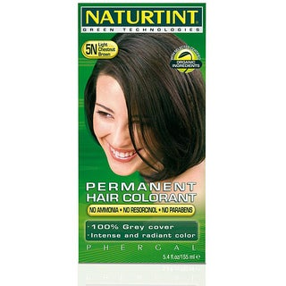 Naturtint Permanent 5N Light Chestnut Brown 5.4-ounce Hair Colorants (Pack of 3)