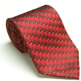 Platinum Ties Men's 'Red Dial' Tie