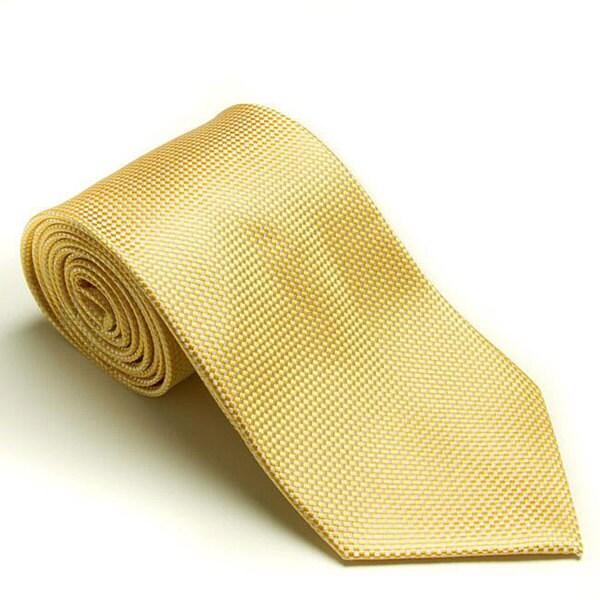 Platinum Ties Men's 'Corn Rows' Tie