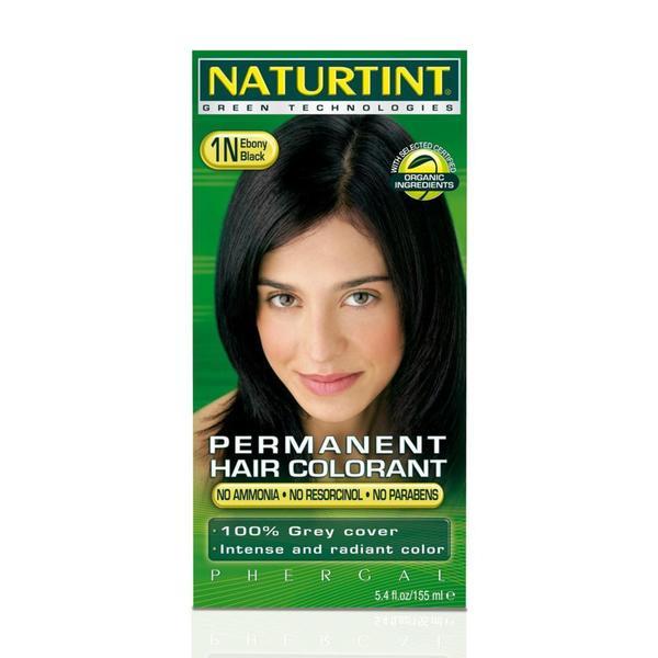 Naturtint Permanent 1N Ebony Black 5.4-ounce Hair Colorants (Pack of 3)