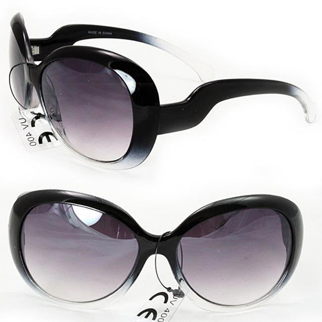 Women's P1866 Two-tone Oversized Sunglasses