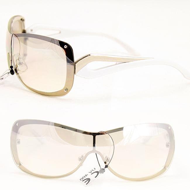 Women's Two-tone Rimless Fashion Sunglasses
