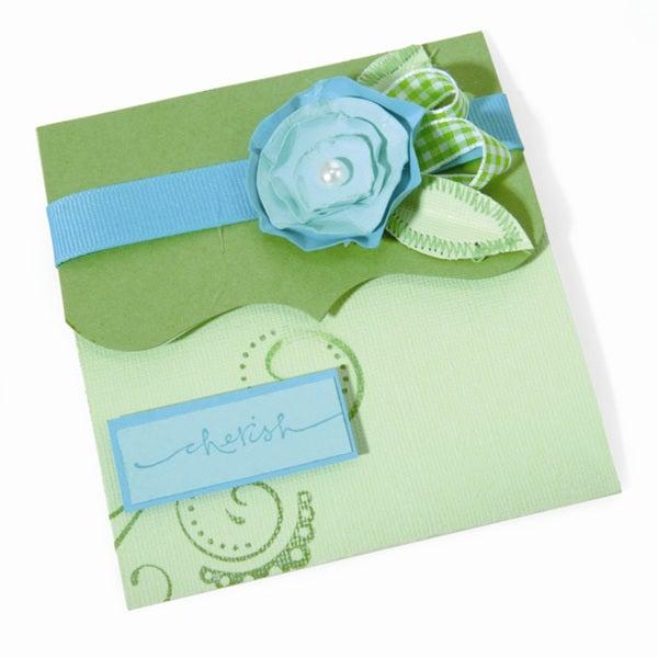 Sizzix Bigz Emily Humble Ornate Tri-fold Card XL Die