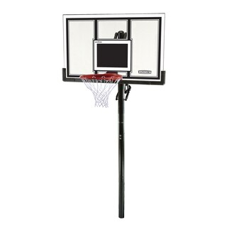 Lifetime 54-inch Shatter Guard In-Ground Basketball System