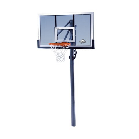 Lifetime 54-inch Acrylic In-Ground Power Lift Basketball System