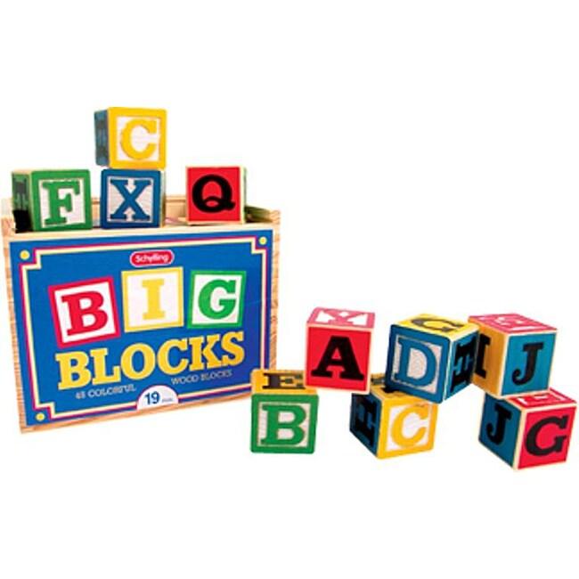 Big Alphabet Blocks