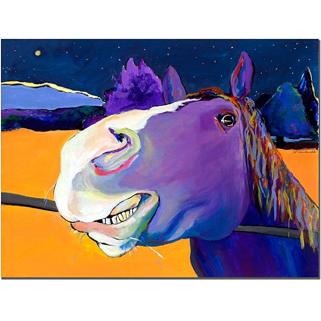 Pat Sanders-White 'Got Oats?' Canvas Art