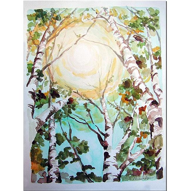 Wendra 'Birch Tree' Canvas Art
