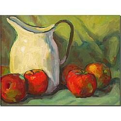 Wendra 'Milk Pitcher' Canvas Art