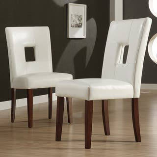 Faux Leather Dining Room & Kitchen Chairs For Less | Overstock.com