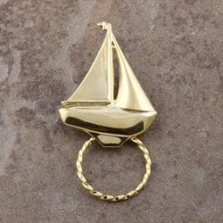 Detti Pin GoldPind Sailboat Glasses Holder (Set of 3)