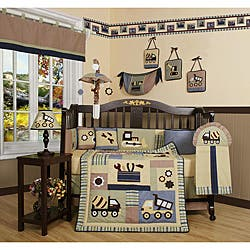 Bedding sets for less overstock geenny constructor 13 piece crib bedding set sciox Image collections