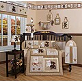 Geenny Teddy Bear 13-piece Crib Bedding Set