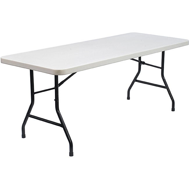 NPS Commercialine 6 Foot Plastic Top Folding Table