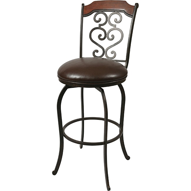Jersey Meadow 26-inch Autumn Rust Counter Stool