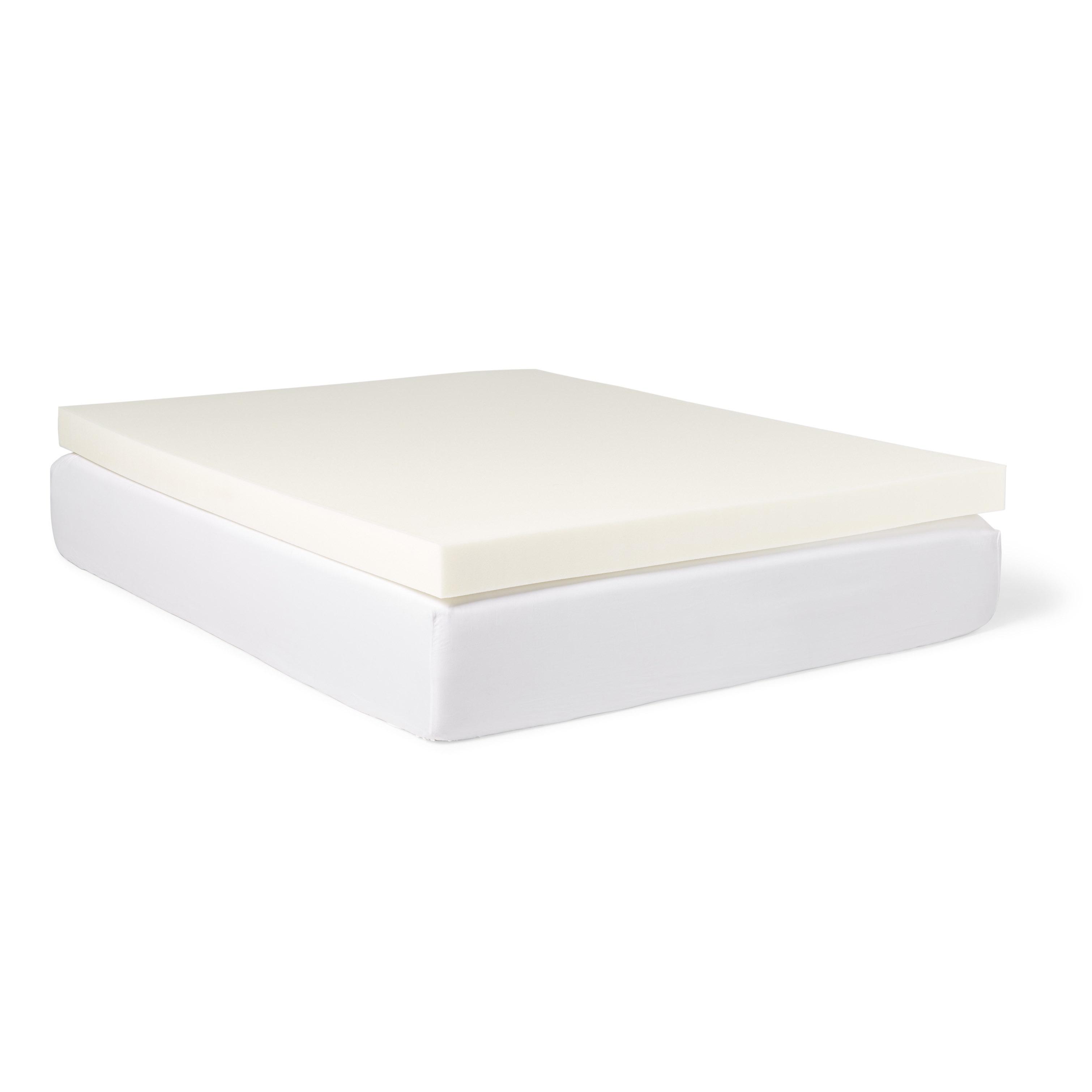 Slumber Pet 4-inch Memory Foam Mattress Topper with Water...