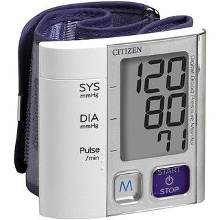 Citizen Wrist Digital Blood Pressure Monitor