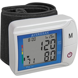 Veridian Digital Blood Pressure Wrist Monitor