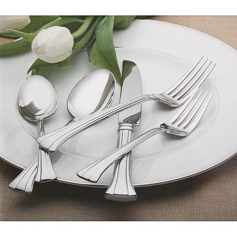 Mont Clare Stainless Steel 65-piece Flatware Set